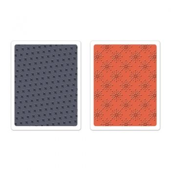 Embossing folders - Yuletide Boulevard Set