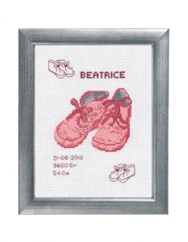"Cross-stitch kit Permin ""Baby birth"""