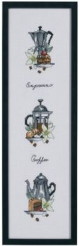 "Cross-stitch kit Permin ""Coffee"""
