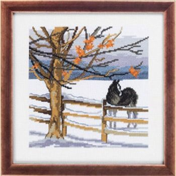 "Cross-stitch kit Permin ""Horse"""
