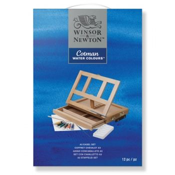 Winton Cotman Water Colour A3 Easel Set