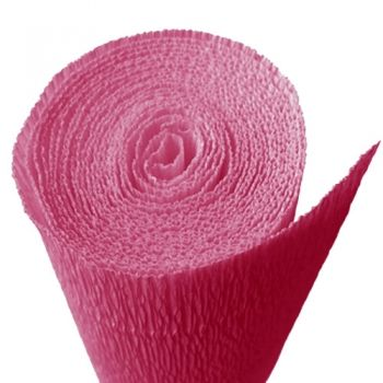 Crepe paper intense fucsia  pink