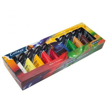 Acrilic paints set Schmincke - College 10 colours
