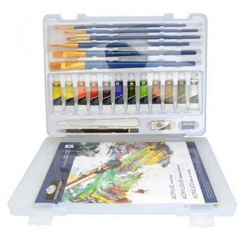 Acrylic paints kit Royal Langnickel - 12 colous