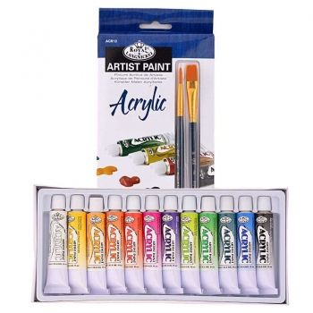 Acryl paints 12 colours Royal Langnickel