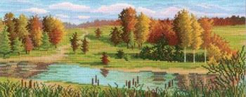 Cross-stitch kit RTO M184 - Ginger Autumn
