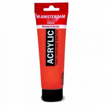 Acrylic paint Amsterdam 315 pirolle red