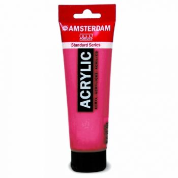 Acrylic paint Amsterdam 348 permanent red purple
