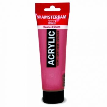 Acrylic paint Amsterdam 366 quinacridione pink