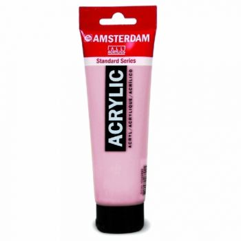 Acrylic paint Amsterdam 385 quinacridione pink light