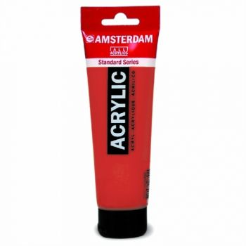 Acrylic paint Amsterdam 399 naphtol red deep