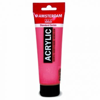 Acrylic paint Amsterdam 567 permanent red violet