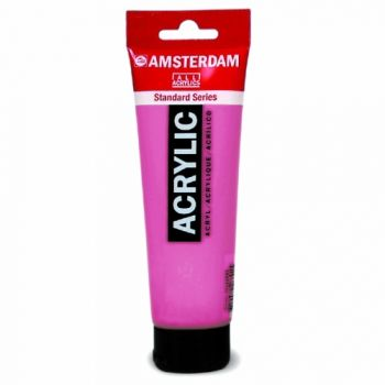 Acrylic paint Amsterdam 577 permanent red violet light