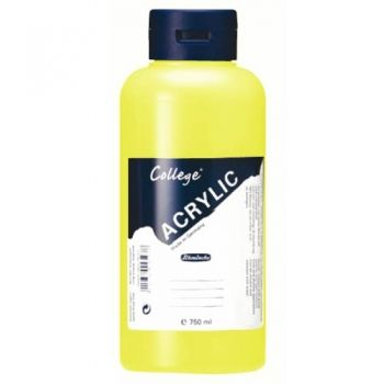 Acrylic Paints Schmincke College - Yellow, 750ml