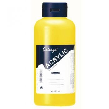 Acrylic Paints Schmincke College - Indian Yellow, 750ml