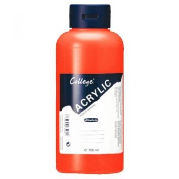 Acrylic Paints Schmincke College - permanent red, 750ml