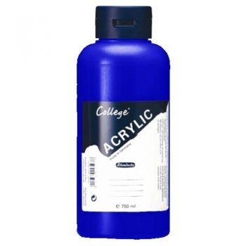 Acrylic Paints Schmincke College - ultramarine, 750ml