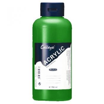 Acrylic Paints Schmincke College - leaf green, 750ml