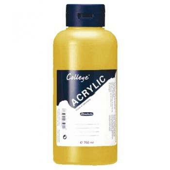 Acrylic Paints Schmincke College - ochre, 750ml