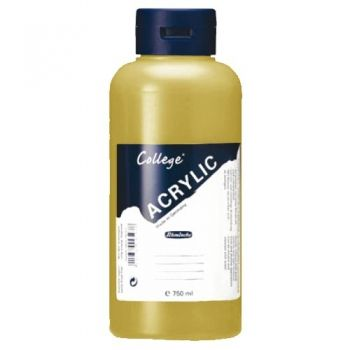 Acrylic Paints Schmincke College - gold, 750ml