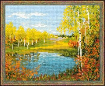 Cross-stitch kit Riolis 1542 - Autumn Day