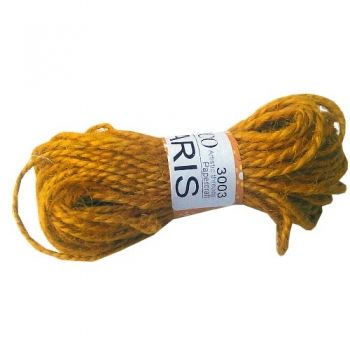 Cord Deco Paris yellow ocre