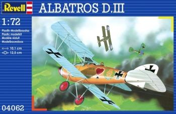 Model of a military aircraft Albatros D.III