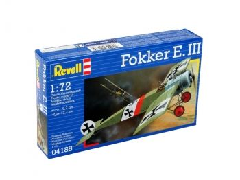 Model of a military aircraft Fokker E.III