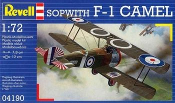 Model of a military aircraft Sopwith F1 Camel - Revell