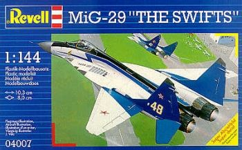 Model military fighter Mig 29 The Swifts - Revell