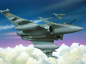 Model military fighter Dassault Rafale M - Revell