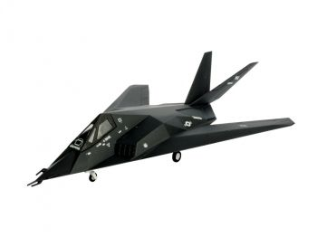 Model military fighter F-117 Stealth Fighter - Revell