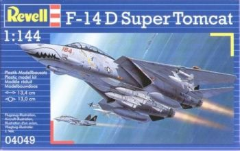 Model military fighter F-14D Super Tomcat - Revell