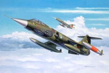 Model military fighter F-104 G Starfighter - Revell