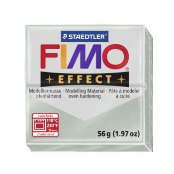 Polimer clay Fimo Effect metalic silver