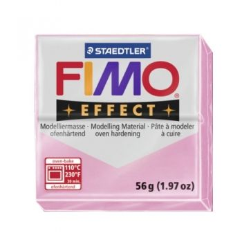 Polimer clay Fimo Effect pastel pink
