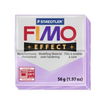 Polimer clay Fimo Effect pastel lilac
