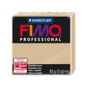 Polimer clay Fimo Professional beige