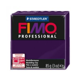 Polimer clay Fimo Professional dark violet