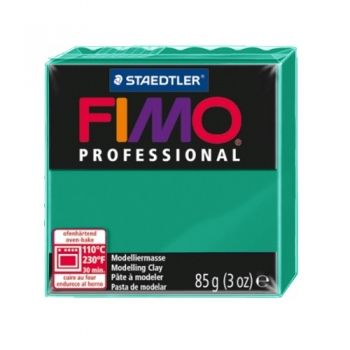 Polimer clay Fimo Professional phtalo green