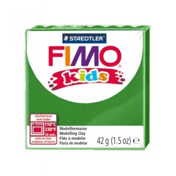 Polimer clay Fimo Kids green