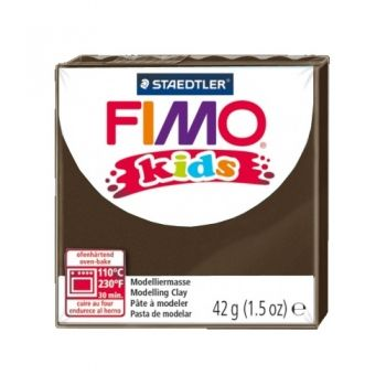 Polimer clay Fimo Kids dark brown