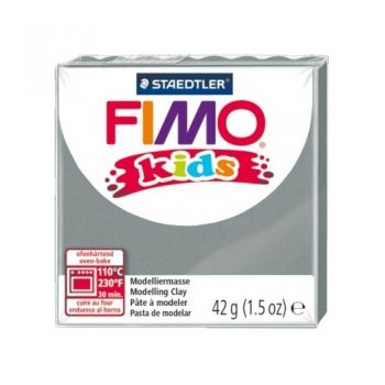 Polimer clay Fimo Kids grey
