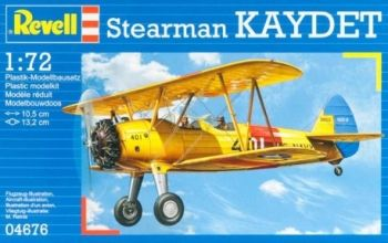 Model military fighter Stearman Kaydet - Revell
