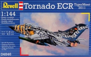 "Model military fighter Tornado ECR ""Tiger Meet 2011"" - Revell"