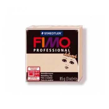 Polimer clay Fimo Profess Doll Art 85 g. beige