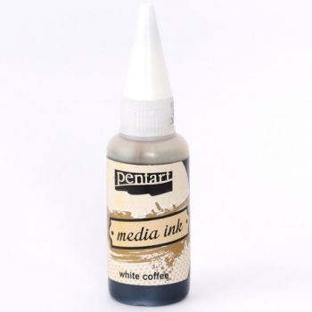 Alcohol Ink Media ink 20ml - White coffee P21026