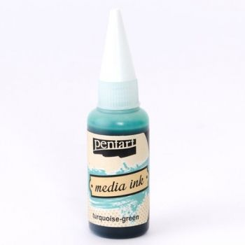 Alcohol Ink Media ink 20ml - Turquoise green P21037