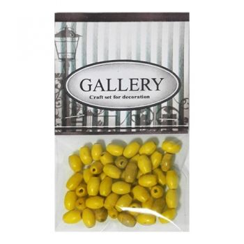Beads Gallery wood yellow