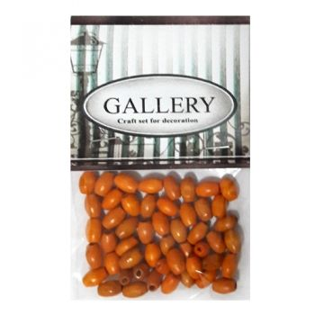 Beads Gallery wood orange